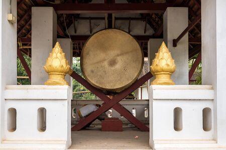 Wat Visounnarath temple in Luang Prabang, Laos.