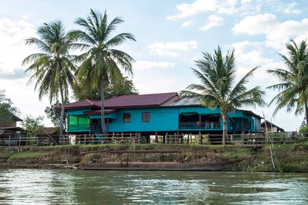 4000 Islands zone in Nakasong over the Mekong river in Laos