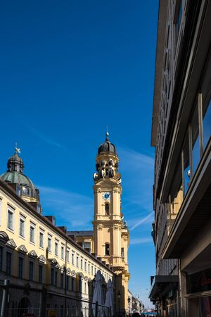 The Theatine Church of St. Cajetan in Munich, Germany