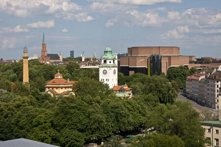 Munich, Germany: The Muellersche Volksbad located at the river Isar