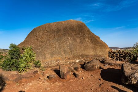 Walking around the historical city of Axum - Ethiopia