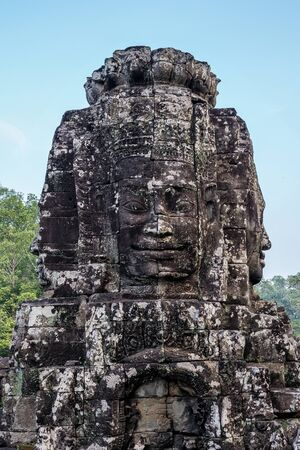 Angkor Wat is a temple complex in Siem Reap, Cambodia. Stockfoto - 131956660