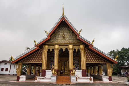 Wat Hua Xiang temple in Luang Prabang, Laos.