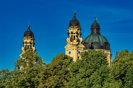 The Theatine Church of St. Cajetan in Munich, Germany