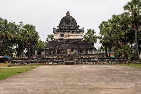 Wat Visounnarath temple in Luang Prabang, Laos. Stockfoto - 132551918