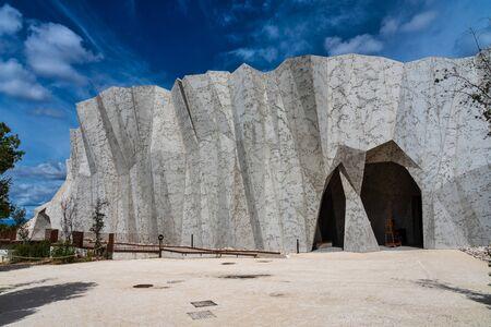 Caverne du Pont-dArc, a facsimile of Chauvet Cave in Ardeche, France