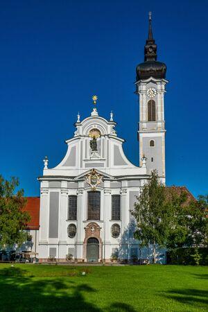 Baroque Marienmuenster Church, Diessen, Ammersee, Bavaria, Germany