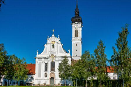 Baroque Marienmuenster Church, Diessen, Ammersee, Bavaria, Germany Banque d'images