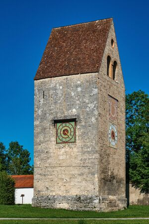 Wessobrunn Abbey, a Benedictine monastery near Weilheim in Bavaria, Germany Archivio Fotografico