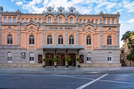 Teatro de Romea in Murcia, Spain in Western Europe