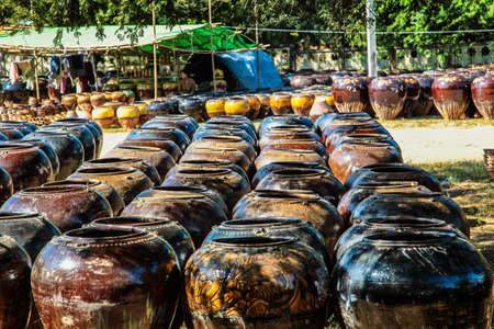 Market in front of Shwezigon pagoda, Bagan, Myanmar former Burma in Asia Reklamní fotografie