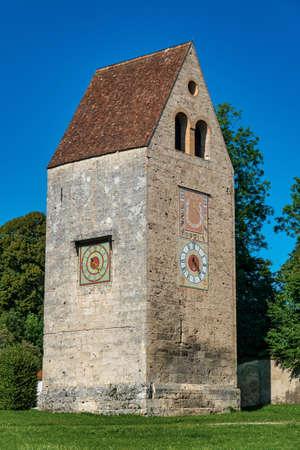 Wessobrunn Abbey, a Benedictine monastery near Weilheim in Bavaria, Germany.