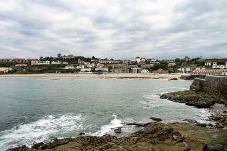 Little town of Comillas located in Cantabria in northern Spain