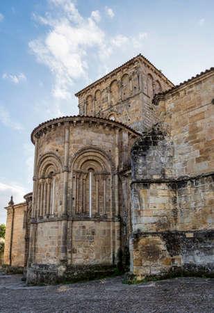 Collegiate Church of Santa Juliana in Santillana del Mar, Cantabria in Spain