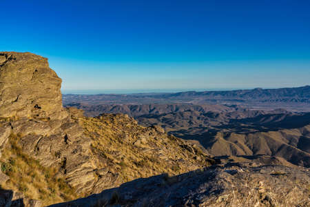 Alto de Velefique is a high mountain pass, at an elevation of 1.820m - 5,971ft above the sea level, located in Sierra de Los Filabres, in Almeria Province, Andalusia, Spain.
