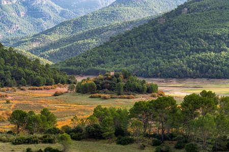 Landscape near Tranco de Beas reservoir in Sierra de Cazorla Segura and Las Villas Natural Park, Jaen province, Andalusia, Spain, Europe