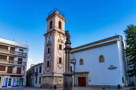 Iglesia de Santo Domingo on the Plaza de la Compania square in Cordoba, Andalusia, Spain