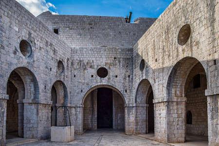 Fort Lovrijenac or St. Lawrence Fortress, often called Dubrovnik s Gibraltar, Dubrovnik, Croatia