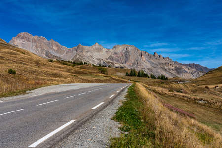 Mountain view in Ecrins national park near the village Villar d Arene, France in Europe Stockfoto