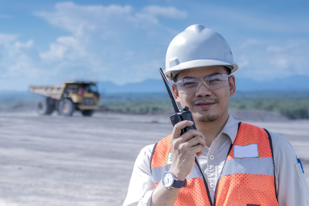 adult indonesia: miner Stock Photo