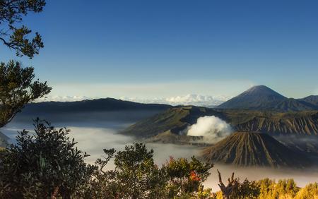 caldera: Mount Bromo volcanoes taken in Tengger Caldera, East Java, Indonesia.