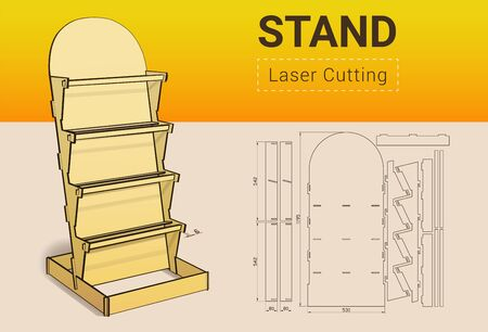 CNC. Laser cutting showcase. Laser cut. No glue need