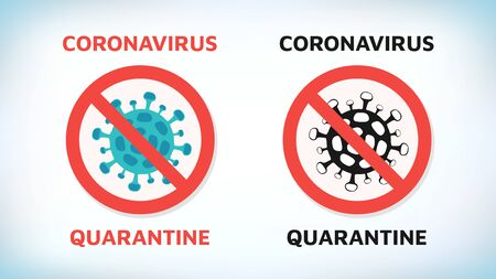 Coronavirus. Chinese coronavirus outbreak. Stop coronavirus. Coronavirus  sars illness. Antibacterial sign set. Bacteria kill symbol. Control infection. Germ kill. Infection icon. Coat isolated.