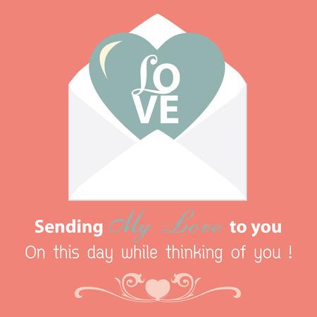 whitern: Happy Valentine Card Vector