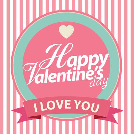 vectorrn: Happy Valentine Card