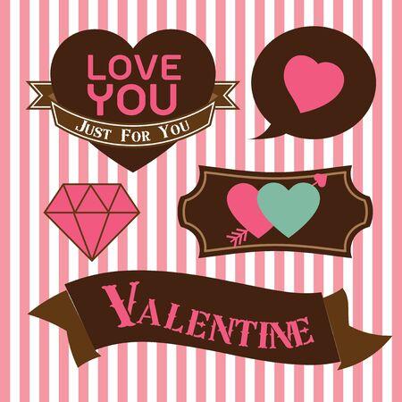 vectorrn: Happy Valentine Set