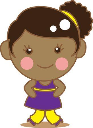 fille noire: Black Girl mignon