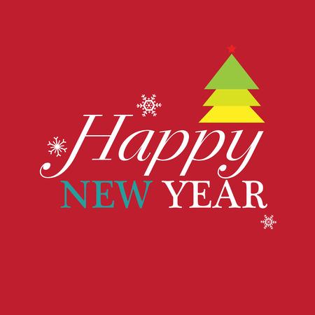 Happy new year greeting card merry christmas card vector happy new year greeting card merry christmas card vector illustration stok fotoraf m4hsunfo