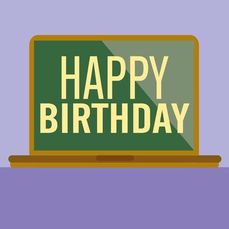 happy birth day: Happy Birth Day card. Vector