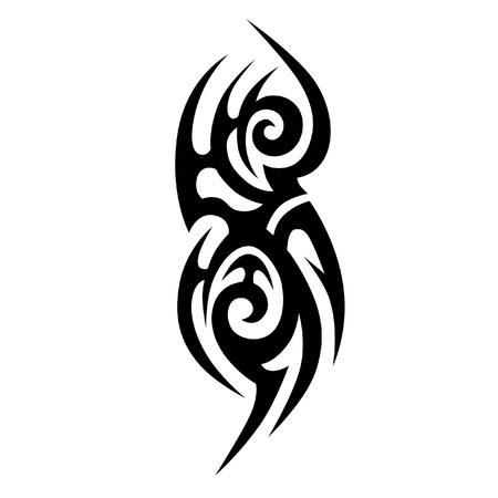 Celtic Tattoo tribal vector designs. Tribal tattoos. Art tribal tattoo. Vector sketch of a tattoo. Idea for design. Vector Illustration