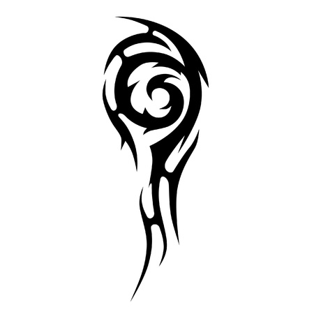Vintage  Art tribal tattoo. Vector sketch of a tattoo. Idea for design.