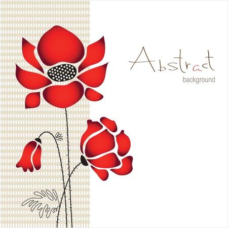 poppy field: resumen de antecedentes con flores amapolas