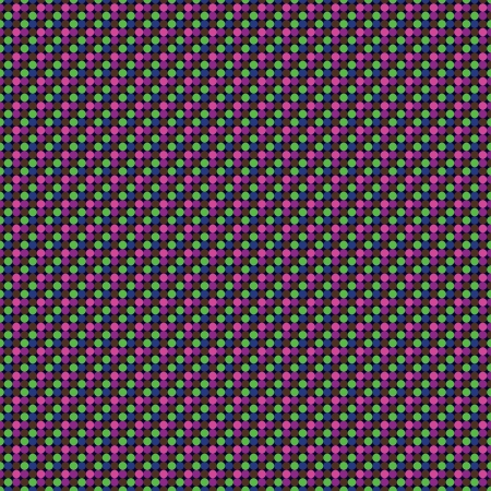 Pattern in bright colors dots repeat seamlessly Vector