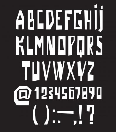 Alphabet design modern style, back to school style Stock Vector - 16440640