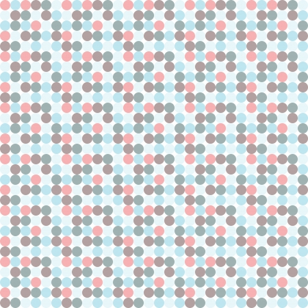 worn paper: Aged and worn paper with polka dots. Illustration