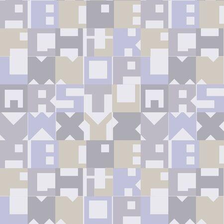 Seamless texture of letters  Roman alphabet Stock Vector - 17224234