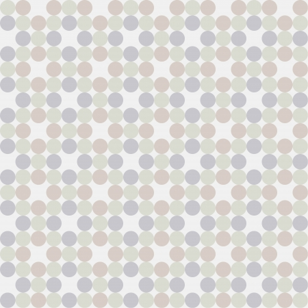 Seamless pattern, polka dot fabric, wallpaper  Vector art Stock Vector - 17224242