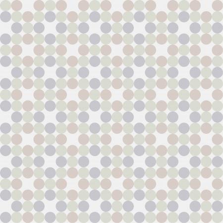 Seamless pattern, polka dot fabric, wallpaper  Vector art
