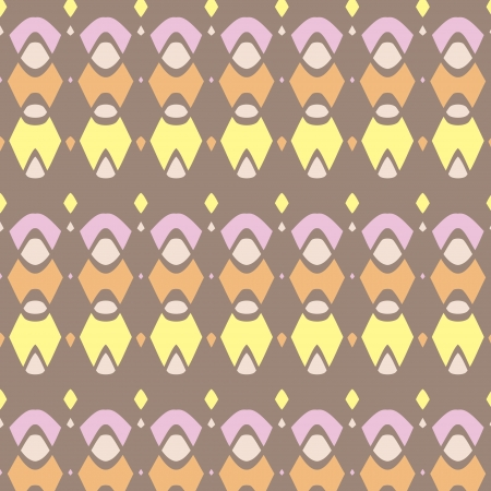 Abstract pattern in ethnic style  Vector art
