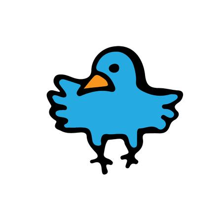 tending: Blue bird icon