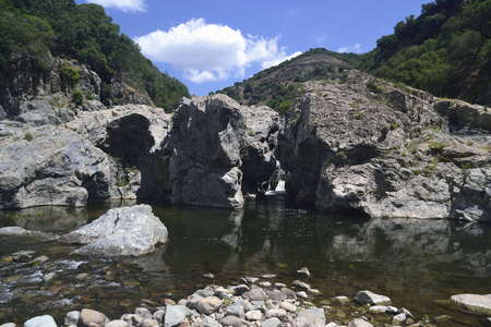 Is Caddaias pools in the Flumendosa river