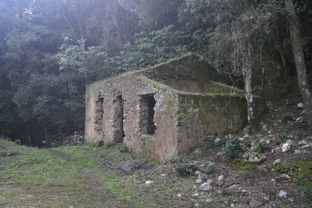 Old building of Reigraxius mine