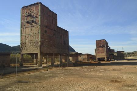 Abandoned mine of Monteponi Zdjęcie Seryjne