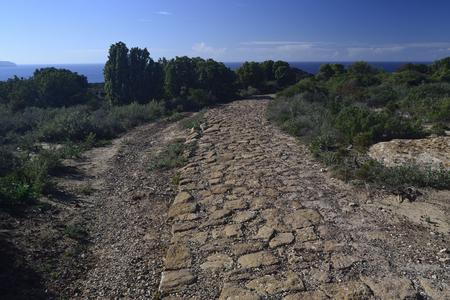 Roman road of Capo Altano
