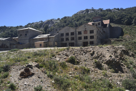 Abandoned mine of Arenas