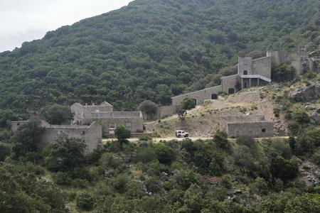Abandoned mine of Baccu Locci